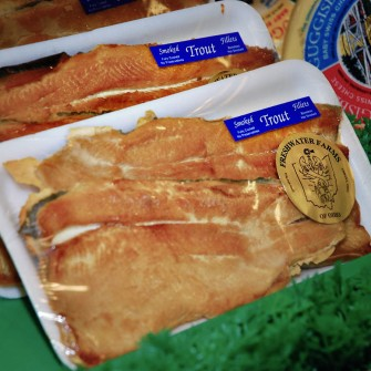 Smoked Trout Fillets_ at Freshwater Farms of Ohio