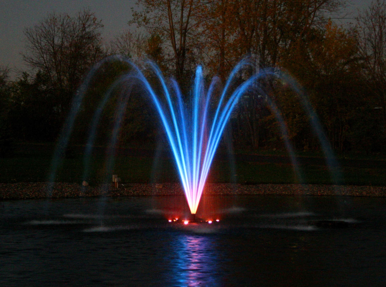 Световой фонтан своими руками