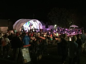 Live Music at the Fish & Shrimp festival at Freshwater Farms of Ohio