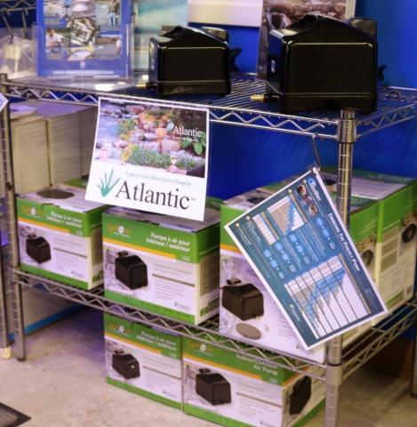 Atlantic garden pond pumps