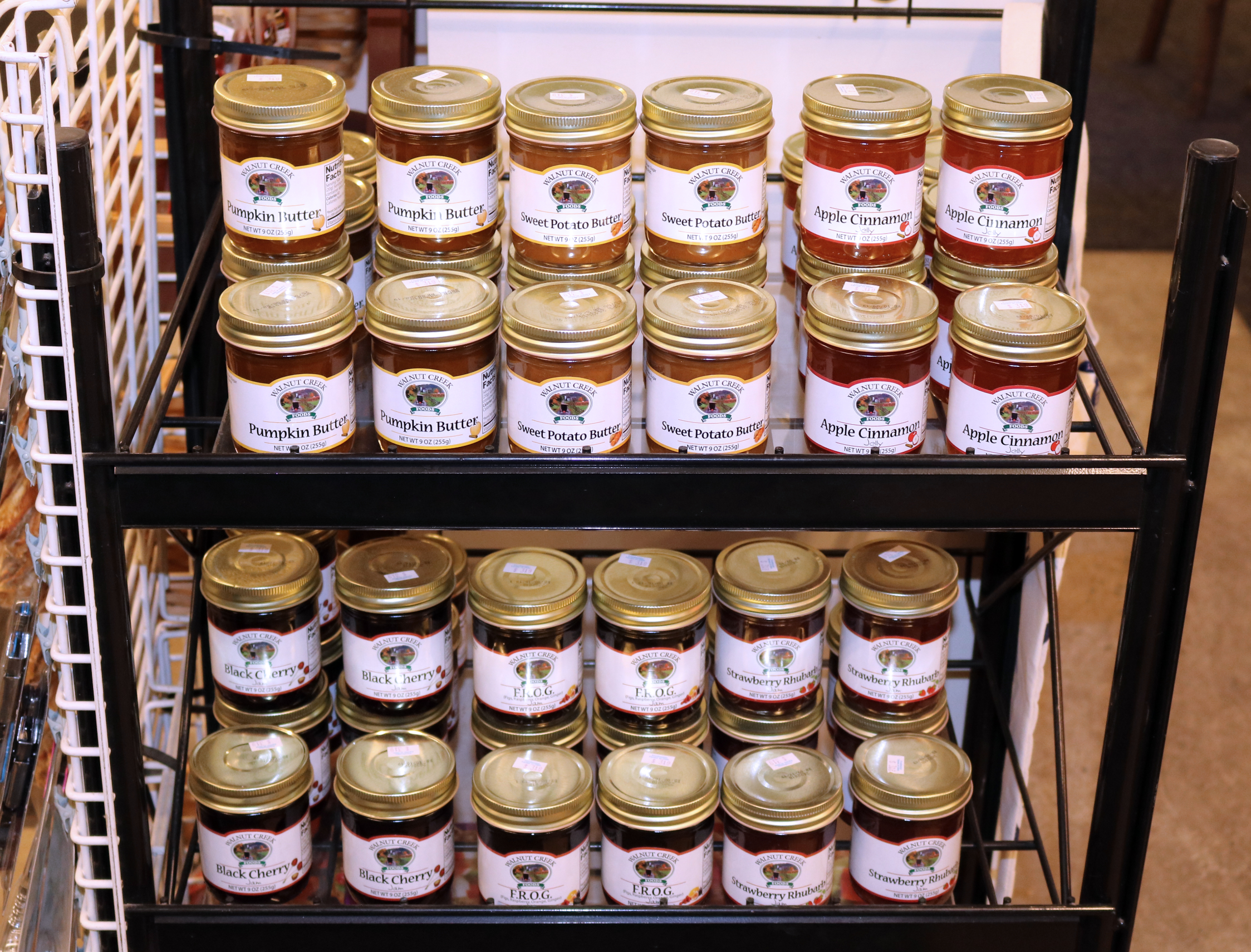 Walnut Creek Locally-made Butters