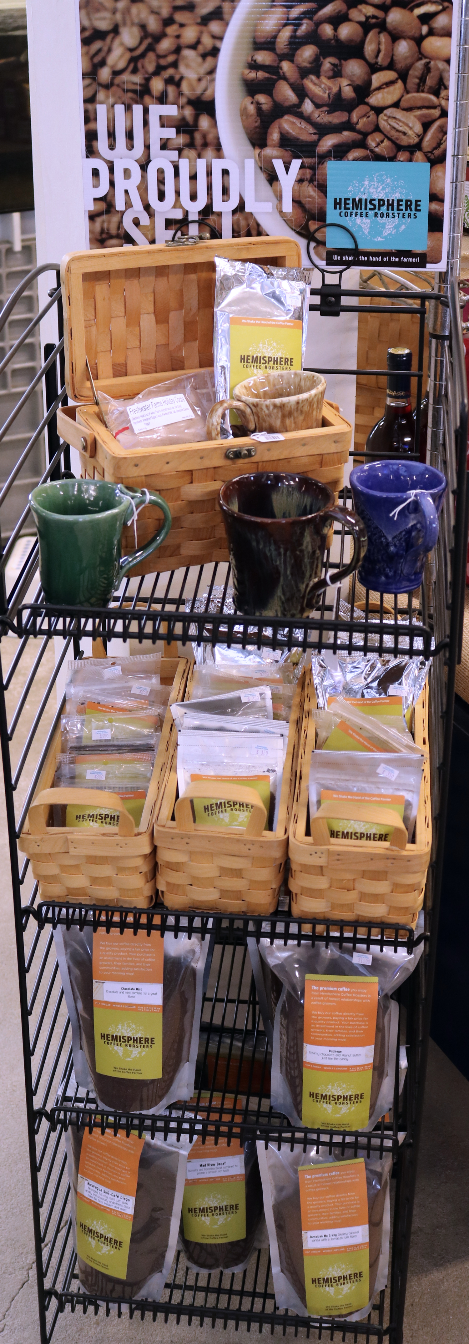 Hemisphere Brand Locally-made Coffee
