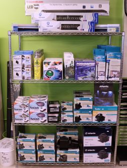 garden pond & aquarium pumps