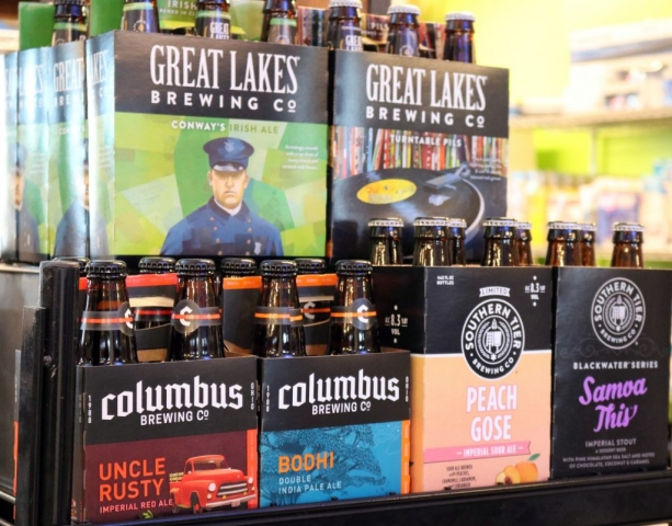 Craft Beers by Great Lakes Brewing Co, Columbus Brewing Co & Southern Tier Brewing Co