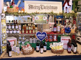 local products holiday display 02