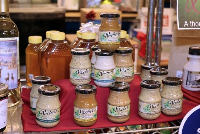 mustards display