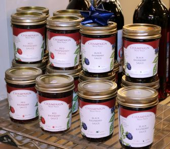 champaign berry farm rasberry sauce