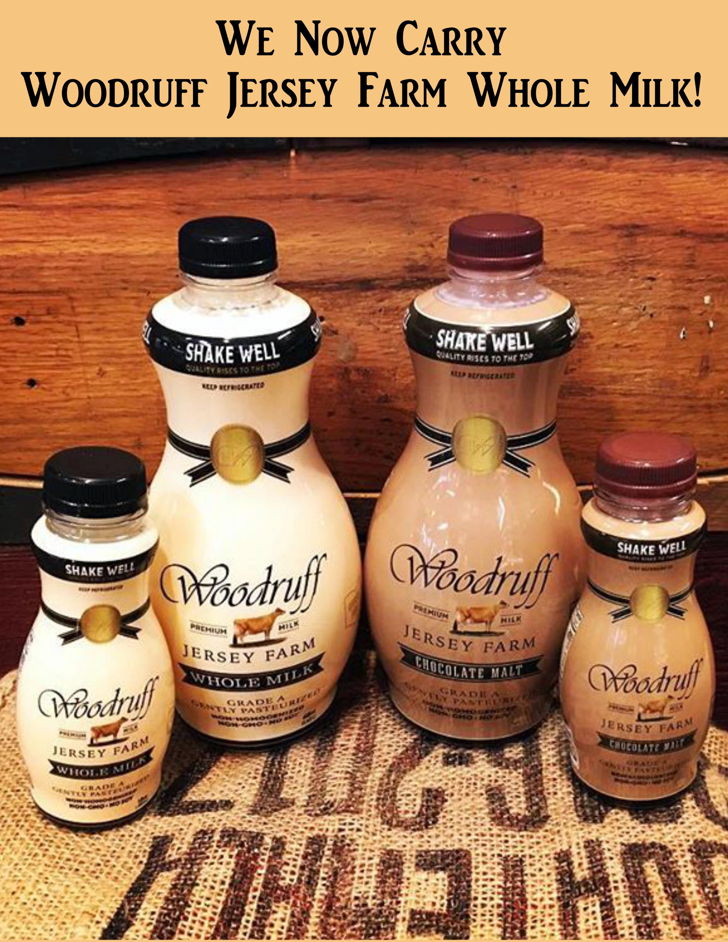 woodruff whole milk