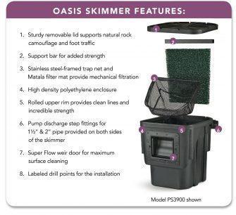 oasis ps3900 skimmer2