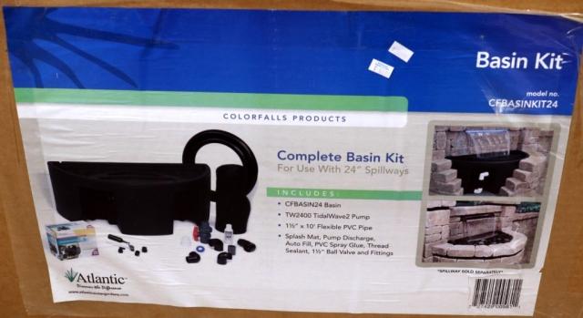 """basin kit for 24"""" spillways"""