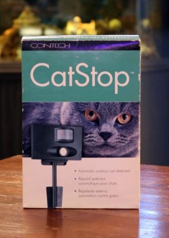 CatStop automatic cat deterent