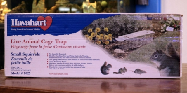 Havahart live animal trap - small and large available