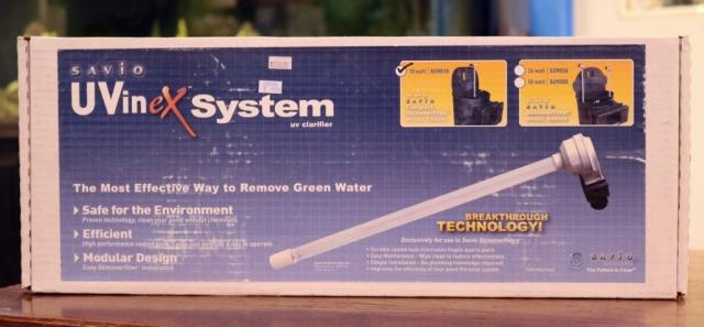 Savio UVinex UV Clarifier system
