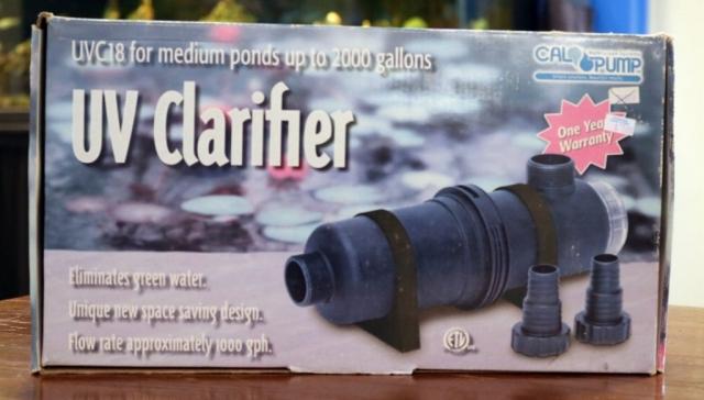 UVC 18 uv clarifier