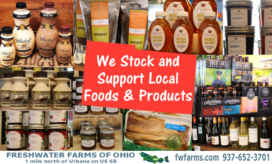 local foods and products we stock