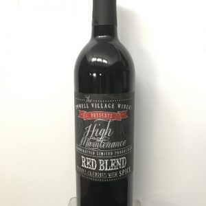 high maintanence wine