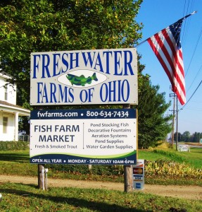 Ohio fish shrimp festival freshwater farms of ohio for Fish hatchery ohio