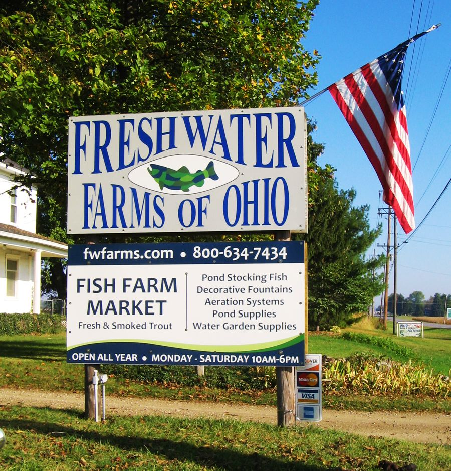 freshwater farms of ohio ohio fish shrimp festival