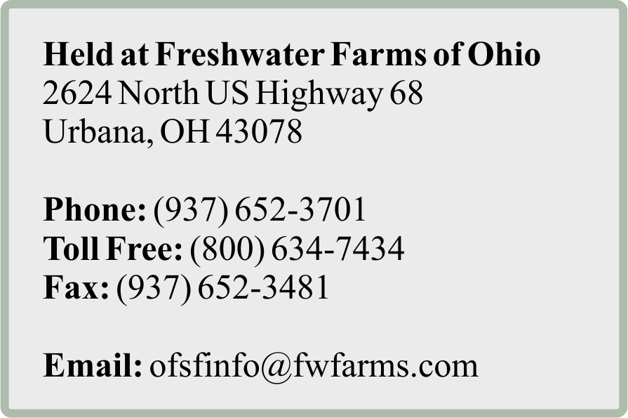 contact us at: ofsfinfo@fwfarms.com